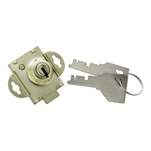 First Watch 1319 Mailbox Lock, Polished Brass