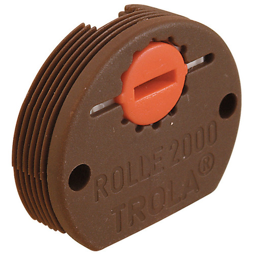 Hafele 404.20.139 Roller Bottom Guide with Adjustable Steel Spindle