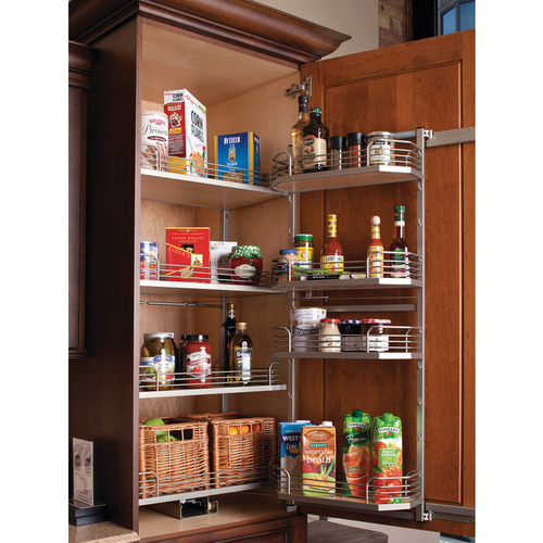 Hafele 546.65.311 Door Tray Set for Tandem Chef's Pantry