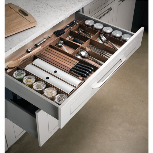 Hafele 556.91.180 Stepped Container Holder Insert for Fineline Cutlery Tray