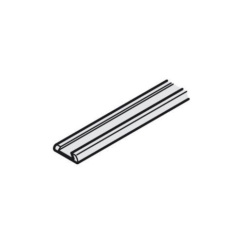 Hafele 406.41.888 Base profile for brush seal for sliding doors