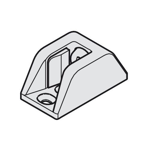 Hafele 940.82.070 Centering Door Stop for glass thickness 8