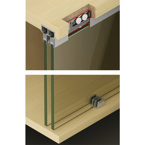 Hafele 405.02.410 Sliding Door Hardware