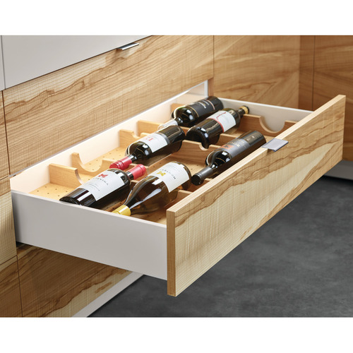 Hafele 554.47.320 Wine Storage Rack for Fineline Base Plate